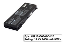 Packard Bell Argo C használt 50%-os laptop akku/akkumulátor  4UR18650F-QC-PL3