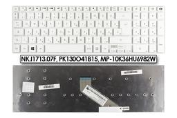 Packard Bell EasyNote F6243-HC, TV43HC, TV44HC gyári új magyar fehér laptop billentyűzet, NK.I1713.07F