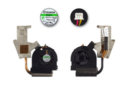 Packard Bell EasyNote TJ65, TJ66, TJ67 használt komplett laptop hűtő ventilátor, 60.4BU17.001