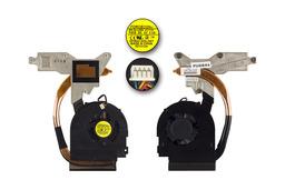 Packard Bell EasyNote TJ75 használt komplett laptop hűtő ventilátor, 60.4GH07.001