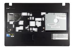 Packard Bell EasyNote TK81, TK85 használt fekete laptop felső fedél, (discrete), 60.BQH02.001