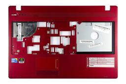 Packard Bell EasyNote TK81, TK85 használt piros laptop felső fedél, (discrete), 60.BQH02.001