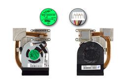 Packard Bell NCL20 gyári új komplett hűtő ventilátor egység (60.WHA02.005)