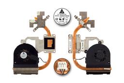 Packard Bell PEW91 használt komplett laptop hűtőegység (KSB06105HA)