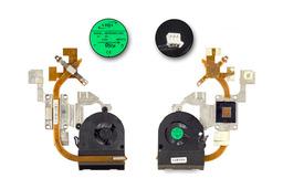 Packard Bell TM94, NEW95 laptophoz használt komplett hűtő ventilátor egység (AT0C6006AX0)