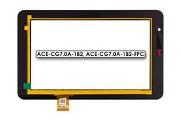 Érintő panel, touchscreen (7'') Prestigio MultiPad 7.0 Pro Duo (PMP5570C) tablethez (ACE-CG7.0A-182)