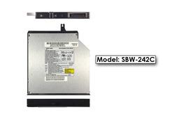 QUANTA SBW242c használt  IDE CD IRÓ DVD-olvasó combo drive , SBW-242C