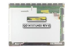 Quanta XGA 1024x768 CCFL használt matt laptop kijelző, QD141X1LH03