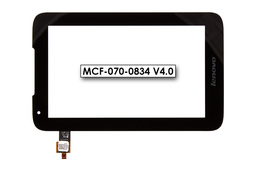Érintő panel, touchscreen Lenovo IdeaTab A1000 7 tablethez (MCF-070-0834 V4.0)