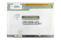 Samsung 15 LTN150XB-L01 CCFL XGA használt matt laptop LCD kijelző, B kategoriás