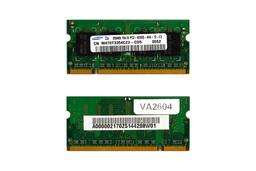 256MB DDR2 533MHz használt laptop memória