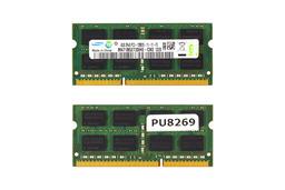 4GB DDR3 1600MHz használt laptop memória