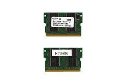 Samsung 512MB 333MHz microDIMM DDR használt laptop memória (M463L6523BN0-CB3)