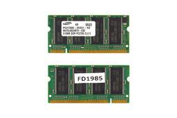 512MB DDR 333MHz használt laptop memória
