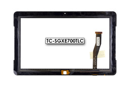 Érintő panel, touchscreen Samsung Ativ XE700T1C tablethez (TC-SGXE700TLC)