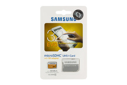 Samsung Evo 32GB microSDHC kártya SD adapterrel (MB-MP32D)