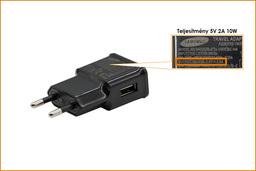Samsung Galaxy Tab 2, Tab 3 5V 2A 10W USB gyári új tablet töltő (kábel nélkül) (ETA-U90EBE)