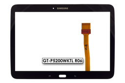 Érintő panel, touchscreen Samsung Galaxy Tab 3 10.1 (GT-P5200) tablethez (GT-P5200WKTL R06)