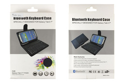 Samsung Galaxy Tab 3 7 inch-hez  Bluetooth wireless billentyűzet, tokkal