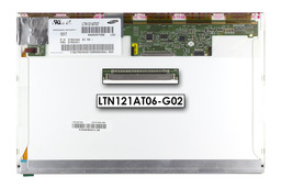 Gyári új matt 12.1 (1280x800) LED laptop kijelző (csatlakozó: 30 pin - jobb fent)