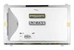 Gyári új fényes 14.0'' HD (1366x768) LED laptop Slim kijelző (csatlakozó: 40 pin - bal)