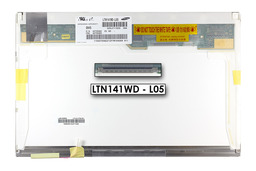 Samsung LTN141WD-L05 gyári új matt 14.1'' (1440x900) CCFL laptop kijelző (csatlakozó: 30 pin - jobb top)