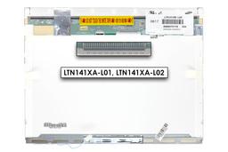 Samsung LTN141XA-L02 gyári új matt 14,1'' XGA (1024x768) CCFL laptop kijelző (30 pin jobb felül)