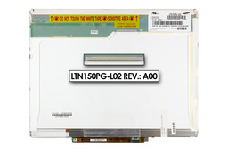 Samsung LTN150PG-L02 15 inch CCFL SXGA+ 1400 x 1050 gyári új matt laptop LCD kijelző