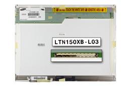 Samsung LTN150XB-L03 15 inch CCFL XGA 1024x768 gyári új matt laptop LCD kijelző