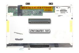 Samsung LTN154AT01-001 15,4 inch WXGA (1280x800) CCFL használt fényes C kategóriás laptop kijelző