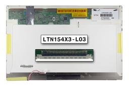 Samsung LTN154X3-L03 15,4 inch WXGA CCFL használt fényes laptop LCD kijelző B kat.