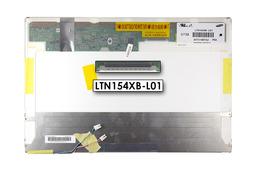 Samsung LTN154XB-L01 WXGA 1280x800 használt fényes 2 CCFL  laptop kijelző
