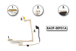 Samsung N140, N145, N150 laptop LCD kijelző kábel BA39-00931A