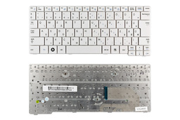 Samsung N140, N150 gyári új magyar fehér laptop billentyűzet (BA59-02709Q)