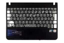 Samsung N210 laptophoz használt fekete felső fedél touchpaddal (BA75-02444Q)