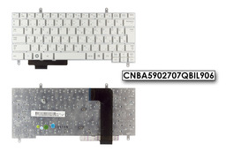 Samsung N210, N220 gyári új fehér laptop billentyűzet, CNBA5902707QBIL906