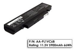 Samsung N210, N220, Q330 használt 75%-os laptop akku/akkumulátor  AA-PL1VC6B