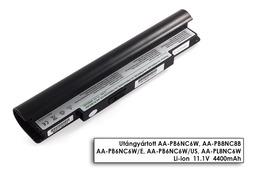 Samsung NC10, NC20, ND10 helyettesítő új 6 cellás fekete laptop akku/akkumulátor (AA-PB6NC6W)