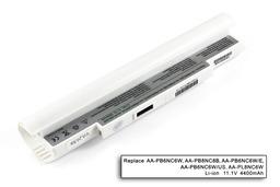 Samsung NC10, NC20, ND10 helyettesítő új fehér 6 cellás laptop akku/akkumulátor (AA-PB6NC6W)