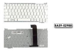 Samsung NC110 gyári új UK angol fehér laptop billentyűzet, BA59-02988