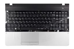 Samsung NP-300 NP300E5A, NP300E5Z gyári új ezüst-fekete magyar laptop billentyűzet modul hangszóróval és touchpaddel (Win7) (BA75-03416Q, BA75-03845Q)