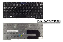 Samsung NP-NC10, NC10 használt UK angol fekete netbook billentyűzet, BA59-02420U