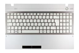 Samsung NP300V5A, NP305V5A gyári új magyar fehér-szürke komplett laptop billentyűzet modul (BA75-03423Q)
