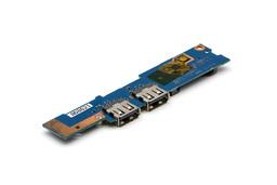 Samsung NP530U3B, NP530U3C, NP535U3C, NP540U3C laptophoz gyári új bekapcsoló / USB / kártyaolvasó panel (BA92-09691A)