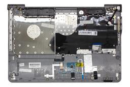 Samsung NP530U4B, NP530U4C, NP535U4C gyári új magyar ezüst laptop billentyűzet modul touchpaddal és hangszóróval (BA75-03720Q)