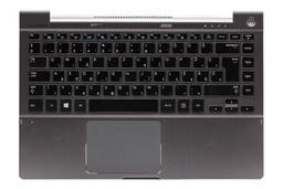 Samsung NP700Z3A, NP700Z3C gyári új szürke magyar laptop billentyűzet modul hangszóróval és touchpaddel (BA75-03982Q)