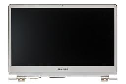 Samsung NP900X3D gyári új matt 13.3'' LED ezüst színű teljes laptop kijelző modul zsanérokkal (BA96-06242A)