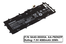 Samsung NP905S3G, XE303C12, XE500T1C gyári új laptop akku/akkumulátor (BA43-00355A)