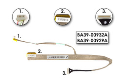 Samsung R528, R530, R540, R580 laptop LCD kijelző kábel, BA39-00932A