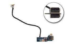 Samsung R528, R580, R590 használt laptop bekapcsoló és USB panel kábellel, BA92-05996A